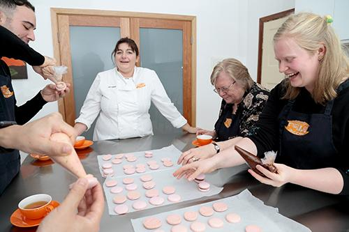 Take part in a Jacican pastry cooking class - learn to make macarons